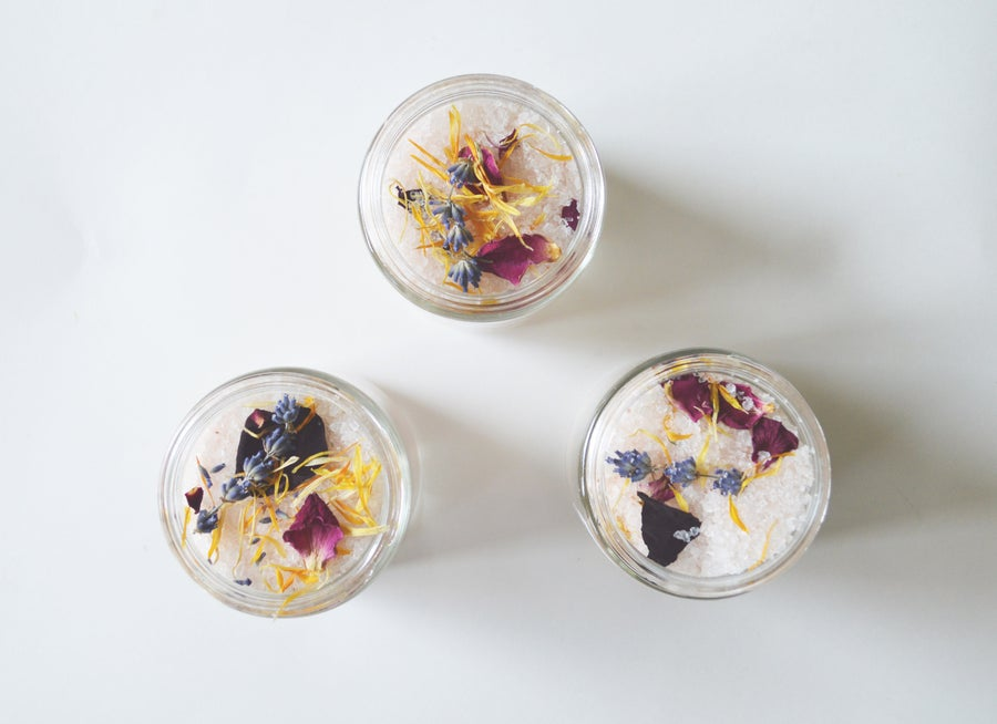 Image of :WILDFLOWER BATH SOAK: lavender + silver fir & eucalyptus