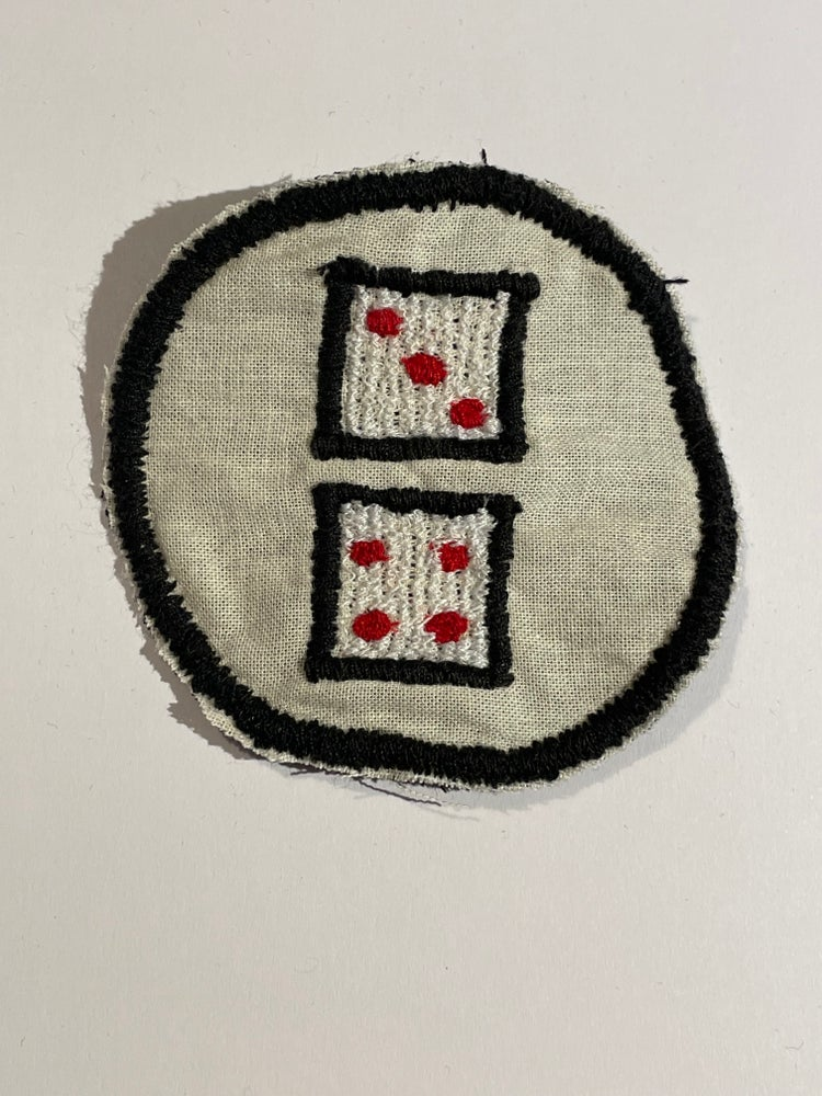 Image of Dice patch.