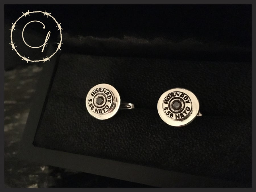 Image of Hornady 5.56 NATO Cufflinks