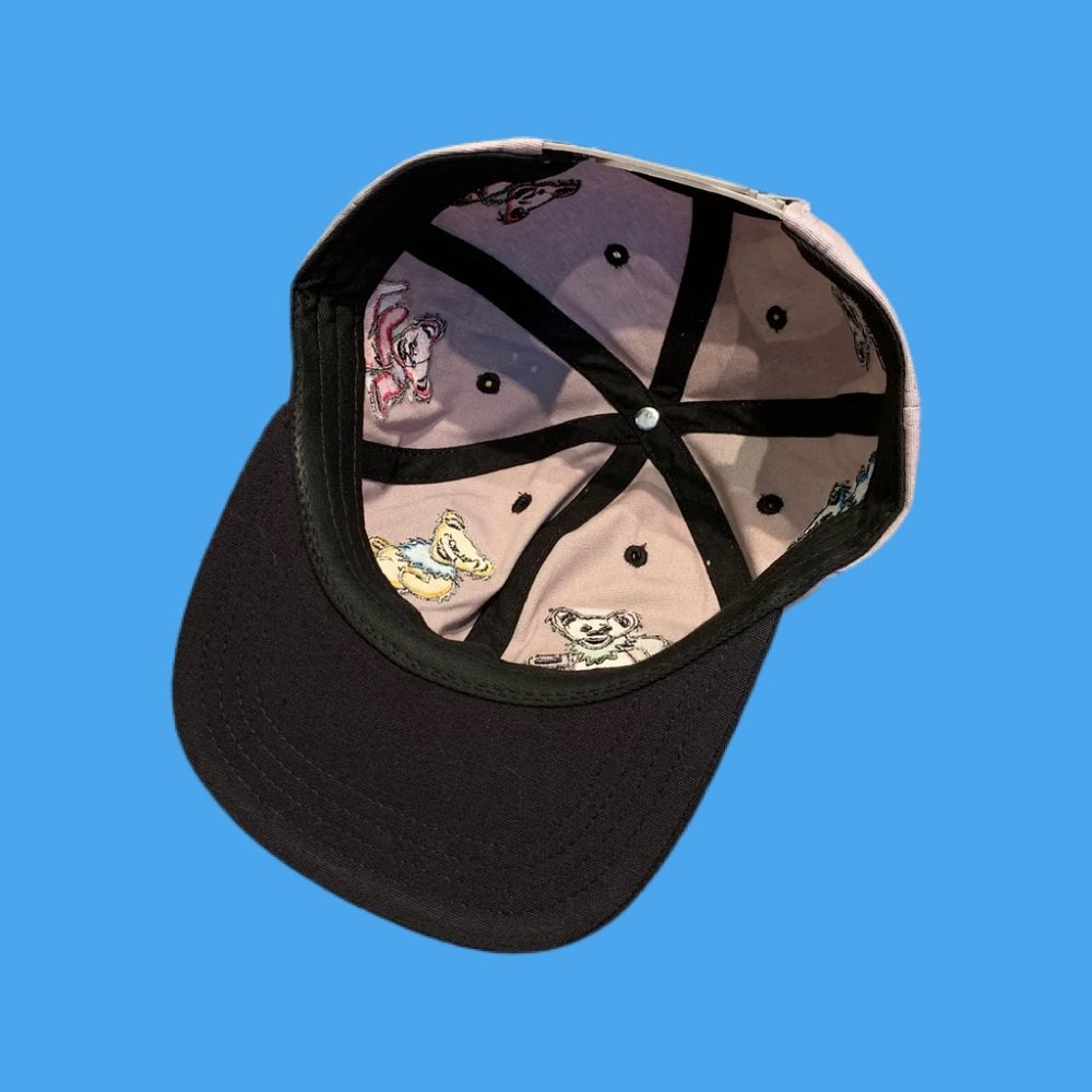 Image of Bear Full 6 Panel Wrap! 100% Natural Hemp Snapback Hat! - $44