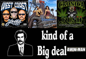 Image of Big CD Deal our new cd West Coast Loco + CRONICA  MEXICAN KUSH +MR SANCHO SMOOTH & SLOW JAMS