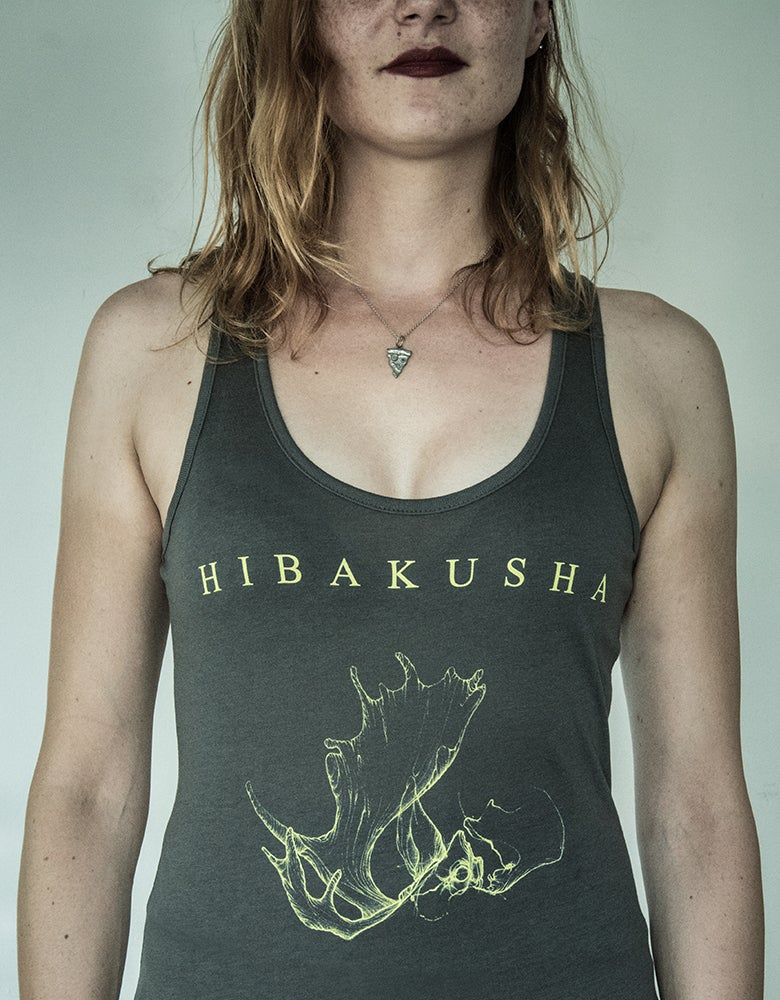 Image of Girls Tanktop Incarnation Artwork - Grey