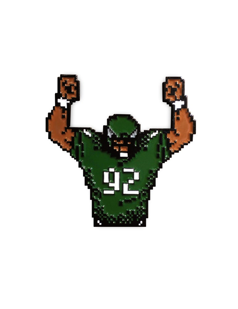 Image of 8-Bit Philly Football Enamel Pin