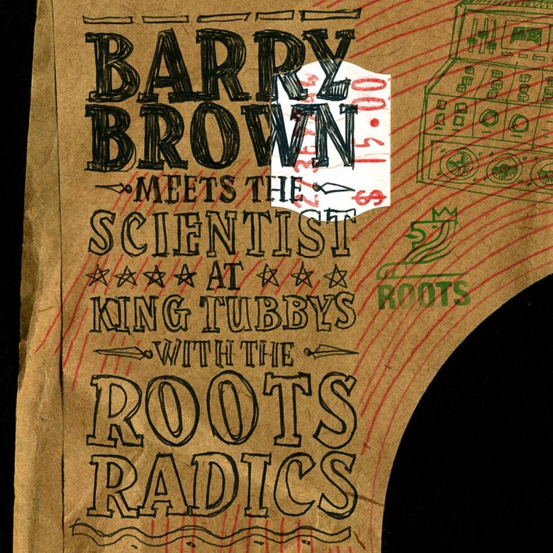 Image of Barry Brown - Midnight Rock (reissue)