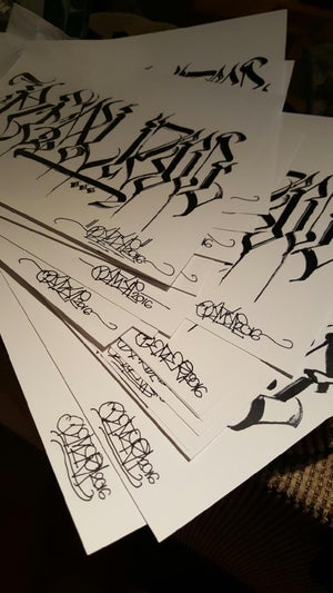 Image of Defer x Realizm Collabo w/ Free Autographed Print by Defer