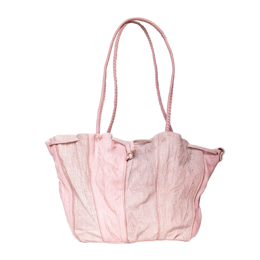 Image of Wosan bucket bag with top zip