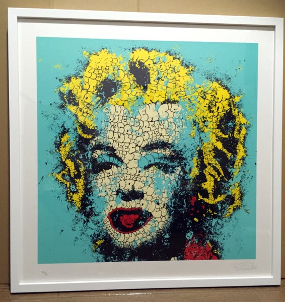 "Image of ""Norma Jeane"" lithography By Tilt"