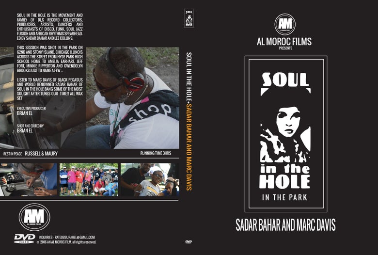 Image of SOUL IN THE HOLE - AT THE PARK ... LIMITED COPIES!!!!