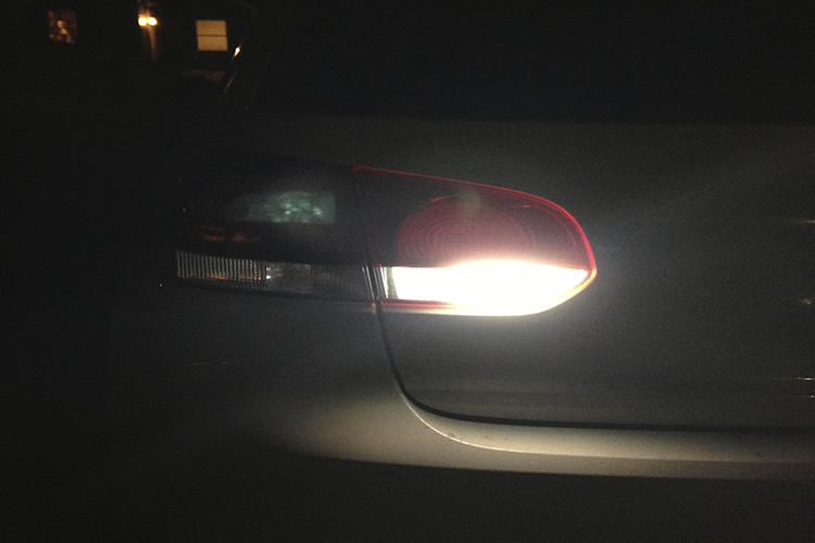 Image of LED Reverse Lights  Super Bright Pure White -Error Free Fits: MK6 VW GTi