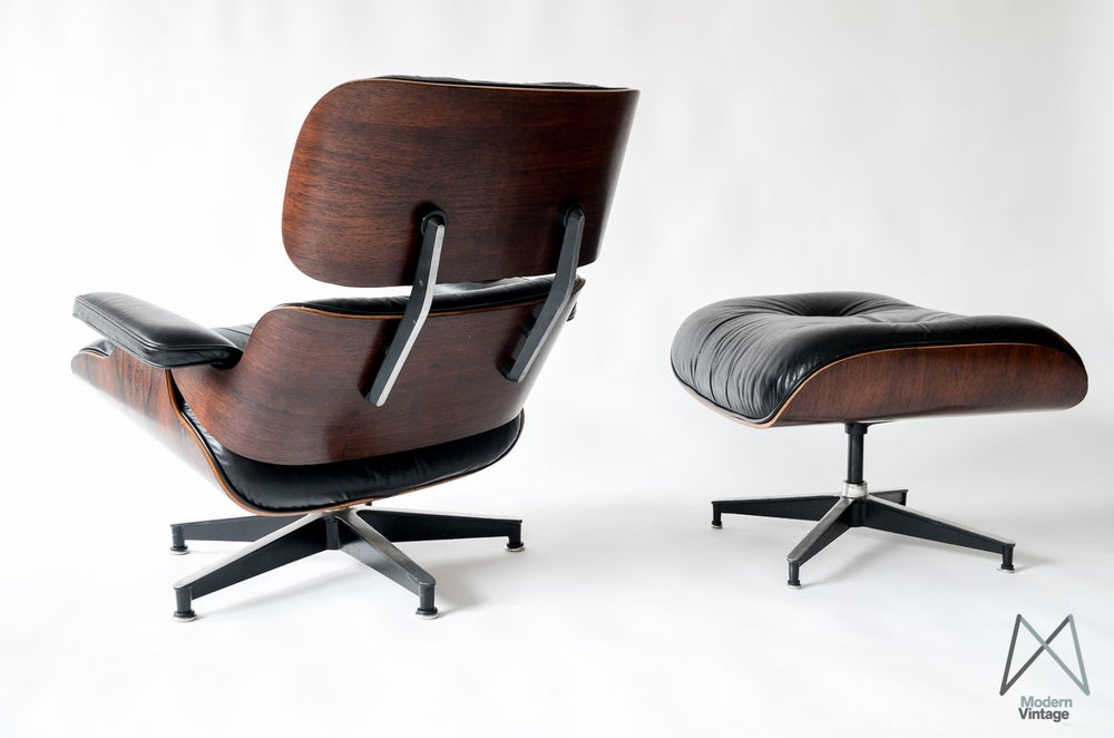 Cool Vintage Eames Rosewood Lounge Chair Herman Miller 60S Gamerscity Chair Design For Home Gamerscityorg