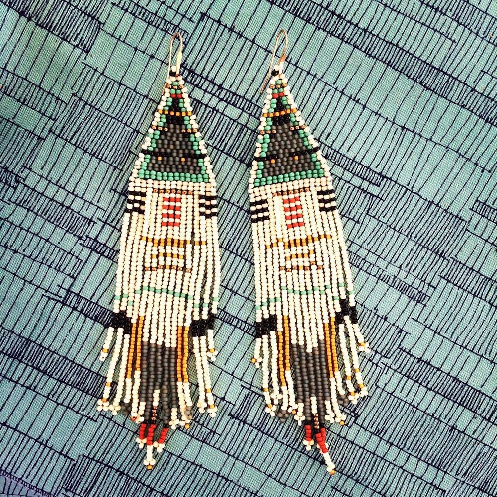 Image of Dream Coat Earrings