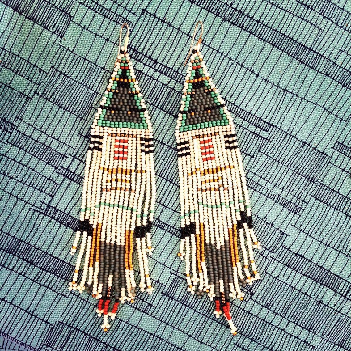 Image of Dream Coat Earrings
