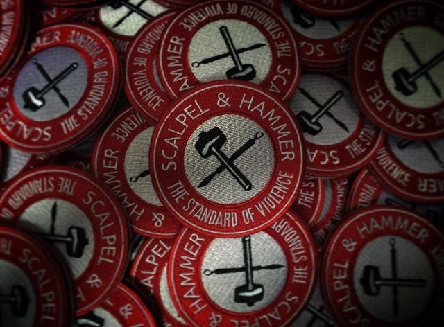 Image of Scalpel And Hammer Patch