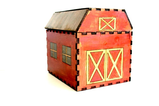 Image of Barn and Farm Animal Set