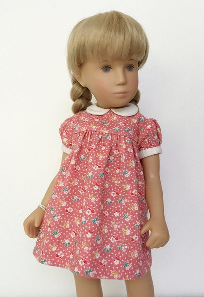 Image of Pink Floral Print Dress