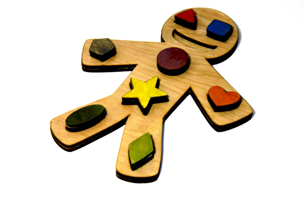 Image of Gingerbread Shape Sorter