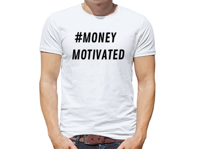 Image of #MONEYMOTIVATED T-SHIRT
