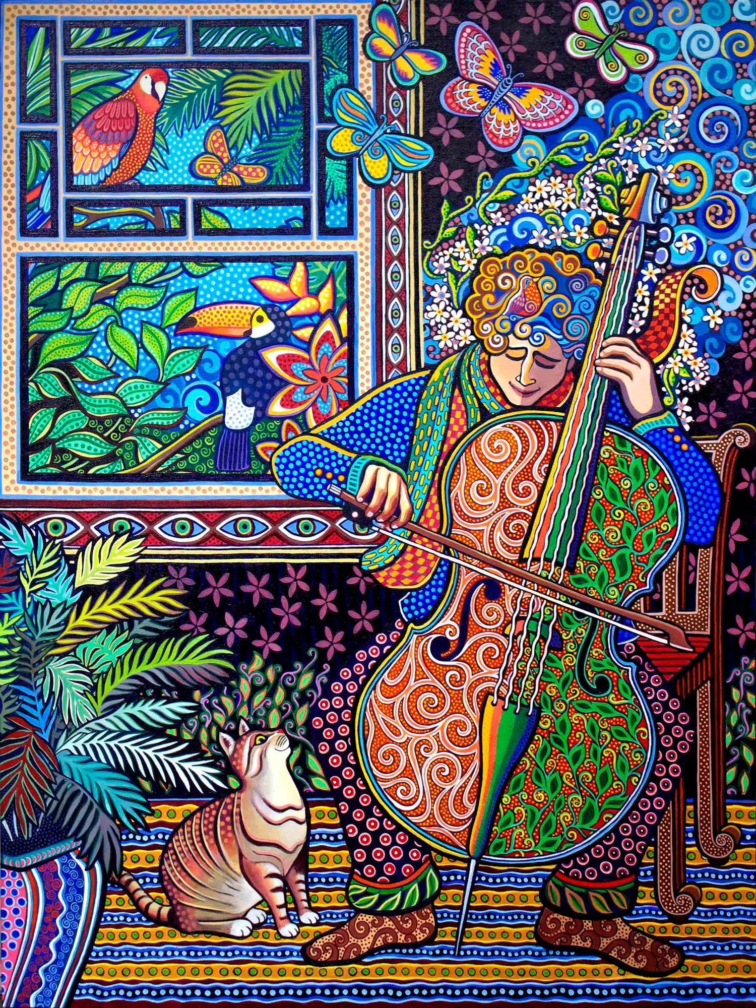"Image of ""Cello Player"" Prints"