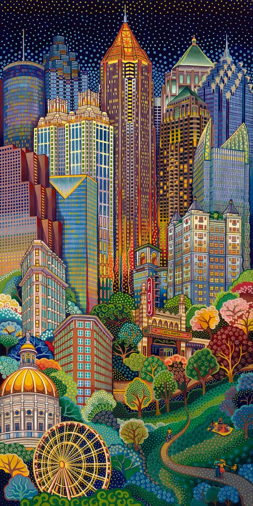 "Image of ""Atlanta City Scape"" Prints"