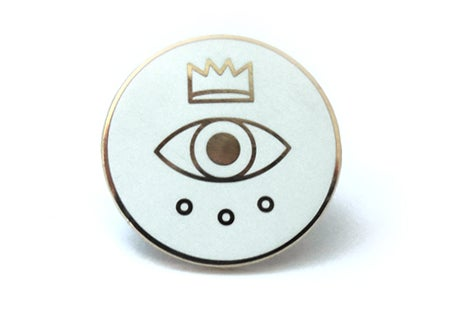 Image of Royal Circle Enamel Pin