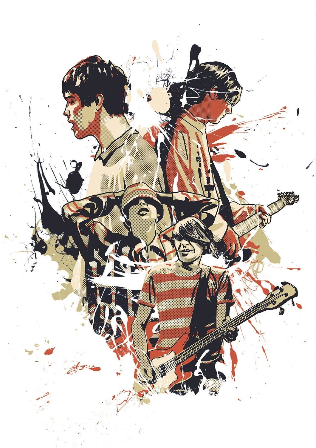 Image of Stone Roses A3