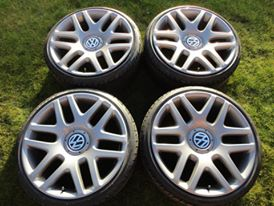 "Image of Genuine VW Phaeton Helios 19"" 5x112 Alloy Wheels"
