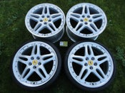 "Image of Genuine Ferrari 612 Scaglietti BBS 19"" 5x114 Alloys"