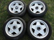 "Image of Genuine Autostrada Modena Staggered 16"" 5x114 Split Rim Alloy Wheels"