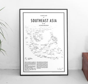 Image of Southeast Asia (Fine Art Print)