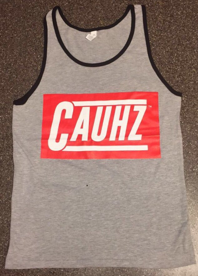Image of Cauhz™ (Heather Grey) 3/4 Mimic Tank Top