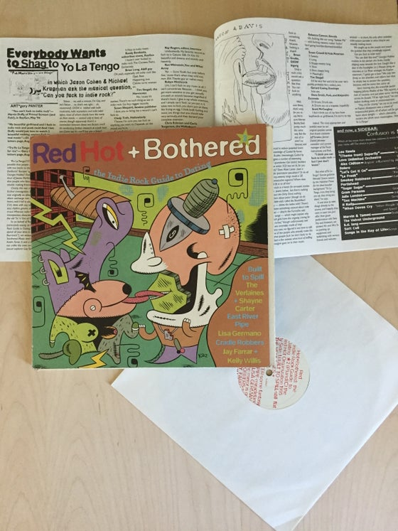 "Image of Red Hot and Bothered 2 - 2 x 10"" Vinyl and Book"