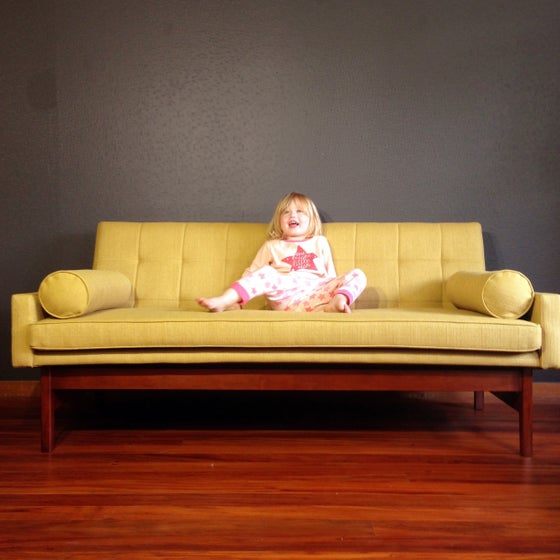 "Image of ""Colonel Mustard"" 3 Seater Sofa"