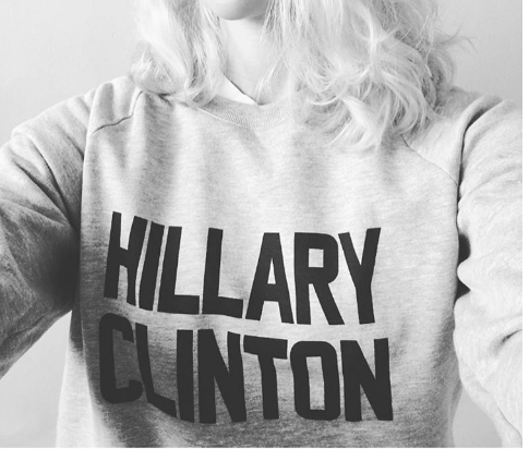 Image of HILLARY CLINTON sweatshirt