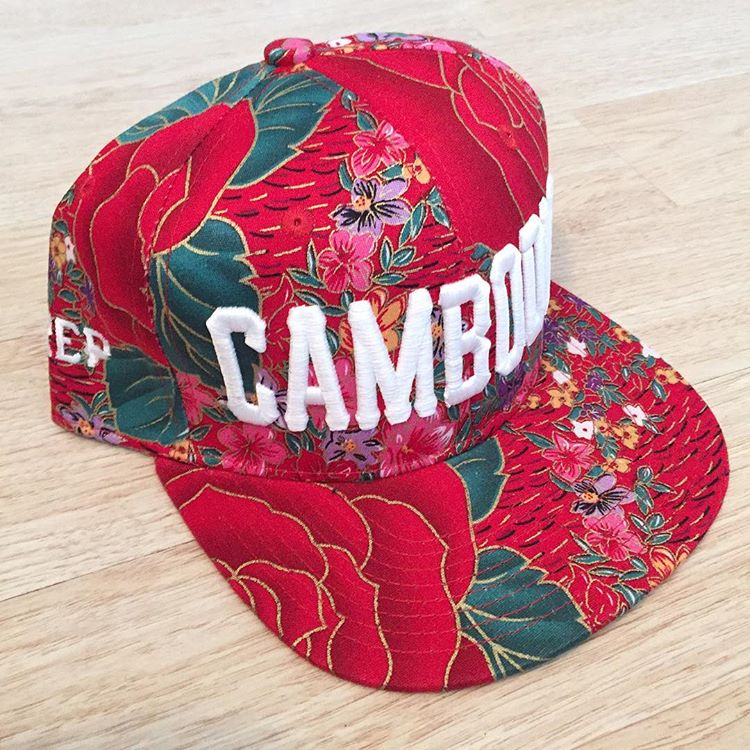 Image of Southeast Asia Floral Print snapback