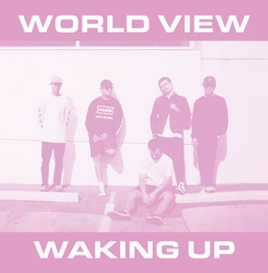Image of World View - Waking Up 7""