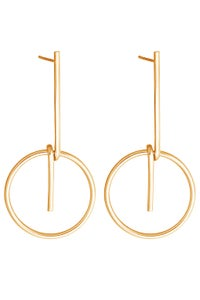 Image of LOOP Earring Gold