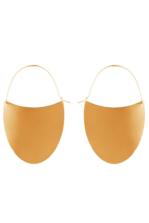 Image of TONGUE Earring Gold