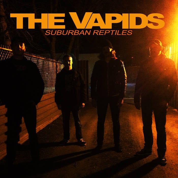 "Image of The Vapids ""Suburban Reptiles"" LP!!!"
