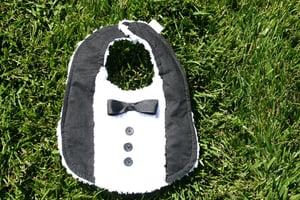 Image of Tuxedo Bib