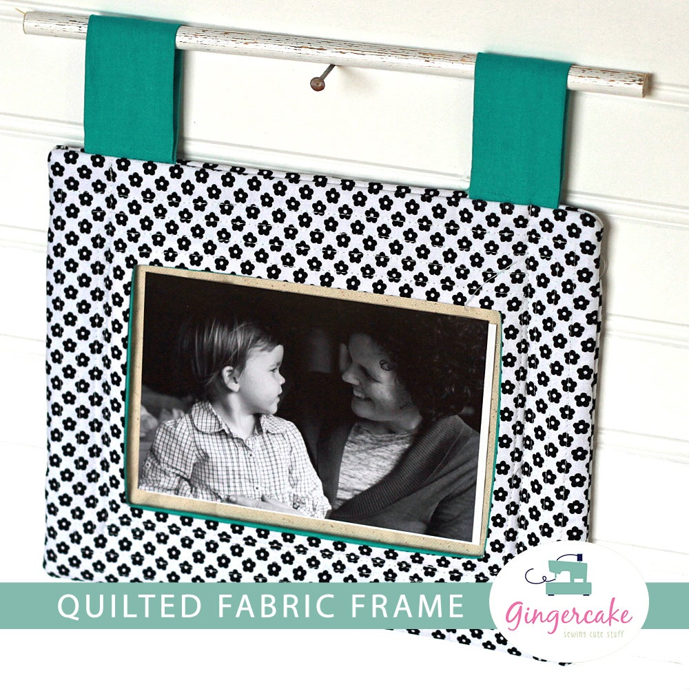 Image of Quilted Fabric Frame PDF Sewing Pattern