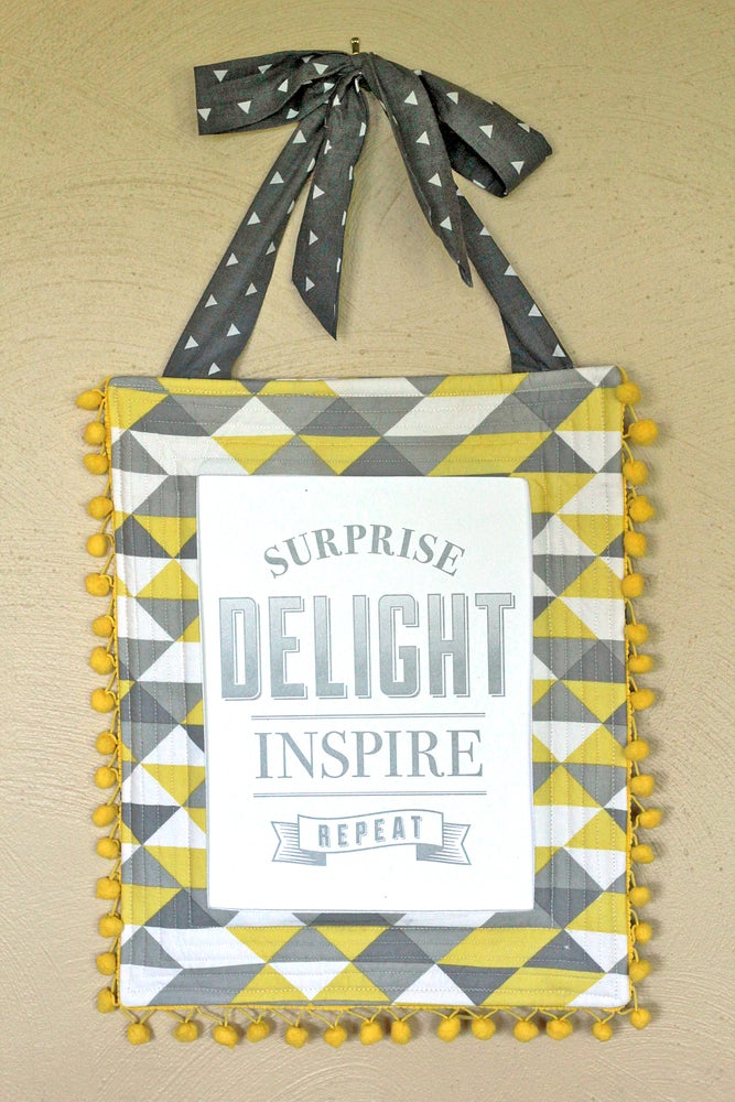NEW!! Quilted Fabric Frame PDF Sewing Pattern / Gingercake Patterns ...