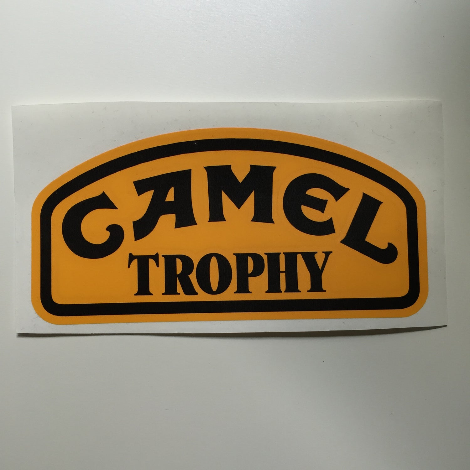 Image of CAMEL Trophey Decal