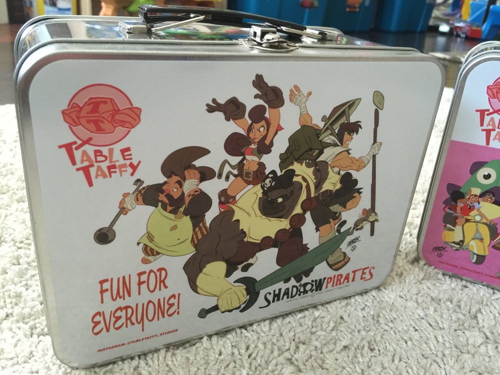 Image of Limited Edition TableTaffy Lunchbox!