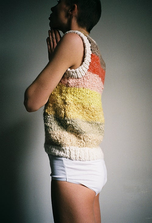 Image of Handspun Plant Dyed Vest