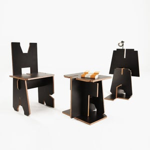 Image of Alphabet Furniture Collection