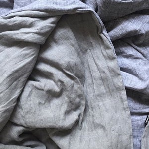 Image of linen blanket