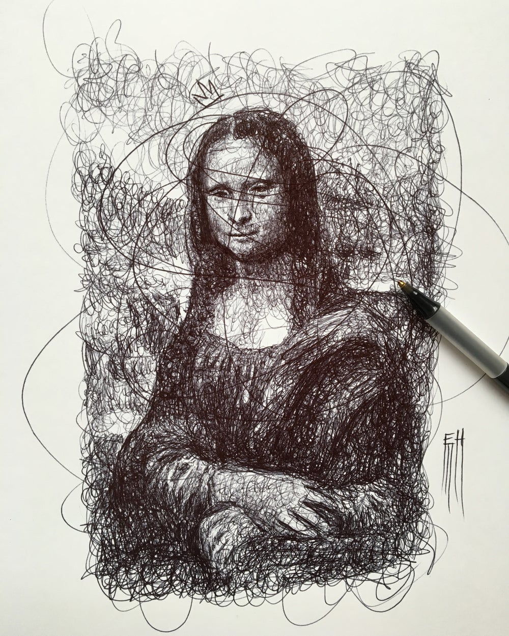 Image of Scribble Mona