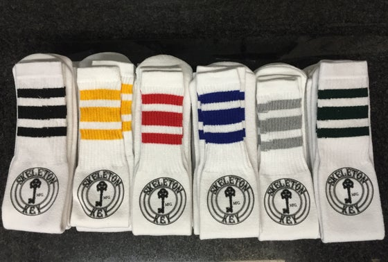 Image of SKMFG FACTORY DOT TUBE SOCKS (X2)