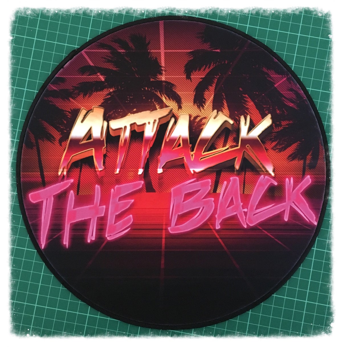 """Image of Attack The Back """"Retro"""" Patch"""