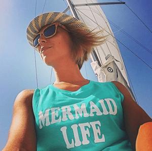 Image of MERMAID LIFE Muscle tee